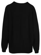 Givenchy Givenchy Two-tone Gg Jumper - GREEN BLACK