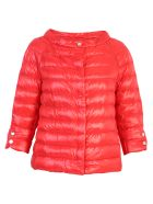 Herno Cape Jacket - Red