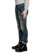 Diesel Blue/beige Fayza Denim Jeans - Blue