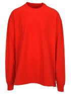 Ben Taverniti Unravel Project Unravel Fleece Roundneck Drawstring - Red