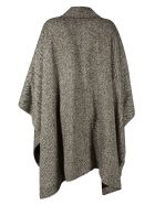 MSGM Double-breasted Cape - Grey