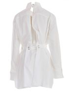 Sacai Belted Utility Shirt - White