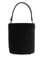 Les Petits Joueurs Baby Olivia Bucket Bag - Black velvet
