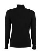 Alberta Ferretti Wool And Cachemire Turtleneck Pullover - black