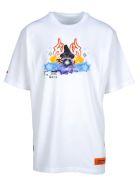 HERON PRESTON Tshirt Reg Magic Wizard - White