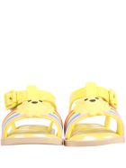 Melissa Yellow Sandals For Kids With Sun - Yellow