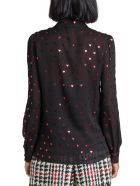 RED Valentino Red Hearts Allover Printed Shirt - Nero