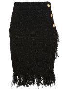Balmain Mid-high Waist Skirt - Pa Noir