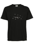 Saint Laurent T-shirt - Noir/argent