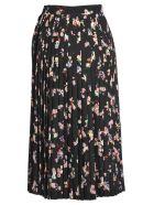 Maison Margiela Martin Margiela Martin Margiela Pleated Fairies Print Skirt - BLACK PRINT