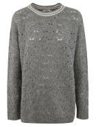Brunello Cucinelli Round Neck Pullover - Grey