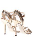 Marc Ellis High Salmon Patent Leather Sandals - Salmon