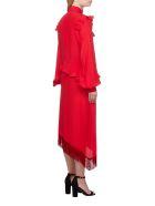 Rokh Ruffled Dress - Rosso