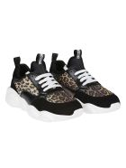 Moschino Leopard Print Sneakers - A