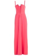 Emporio Armani Stiff Bodice Dress - Arancione
