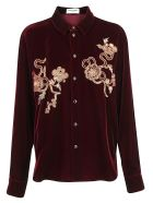 Saint Laurent Shirt - Bordeaux