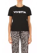 Vivetta T-shirt With Logo Print - BLACK (Black)