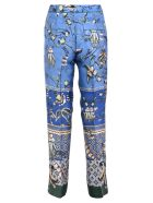 For Restless Sleepers Printed Trousers - Blue