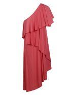 Lanvin Ruffled Dress - Pink