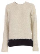 Suzusan Sweater Long Cashmere - Black Light Grey