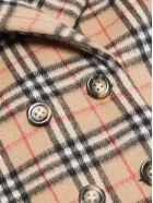 Burberry Vintage Check Pea Coat - Check