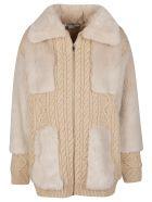 Stella McCartney Beige Virgin Wool Coat - Beige