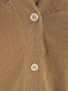 Aspesi Short Sleeved Cardigan - Tortora