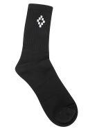 Marcelo Burlon Socks - Black/white