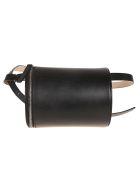 Building Block Cylinder Belt Bag - Black
