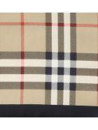 Burberry Vintage Check Motif Logo Scarf - Multicolor