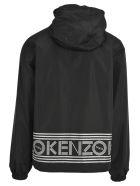 Kenzo Windbreaker Reversibile - Black