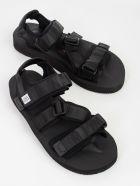 SUICOKE Strappy Sandals - Black