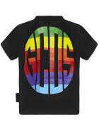 GCDS Mini Gcds Kids T-shirt - Black