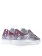 Crime london Battere Pink & Silver Sneakers - Silver/pink