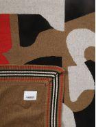 Burberry Patterned Blanket - Camel