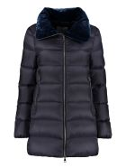 Moncler Torcon Full Zip Padded Jacket - blue