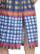 Stella Jean Pleated Skirt - BLUE/YELL PANEL