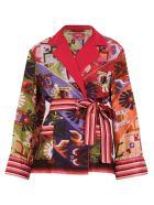 For Restless Sleepers Printed Jacket - Multi
