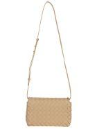 Bottega Veneta Baby Olimpia Shoulder Bag - Cipria/gold