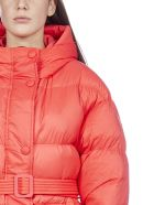 IENKI IENKI Michlin Hooded Nylon Puffer Jacket - Ultra red