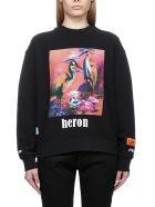 HERON PRESTON Fleece - Black multi