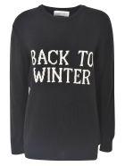 Alberta Ferretti Back To Winter Sweater - Black