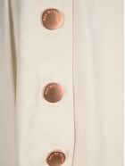 See by Chloé See By Chloe' Knee-length Cotton Shorts - WHITE POWDER