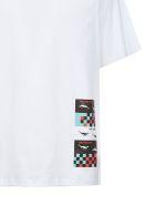 Roberto Cavalli The Return T-shirt - Bianco multicolor