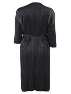 Issey Miyake Pleated Jacket - Black