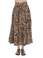 Zimmermann Leo Print Skirt - Leopard