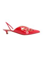 Francesco Russo Leather Pumps - Red