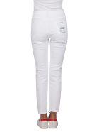 Frame White Cotton Jeans - White