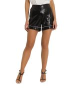 In The Mood For Love Ariel Sequined Shorts - Nero