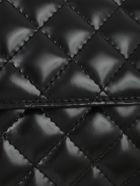 Junya Watanabe Comme Des Garçons Synthetic Leather Shoulder Bag - Black